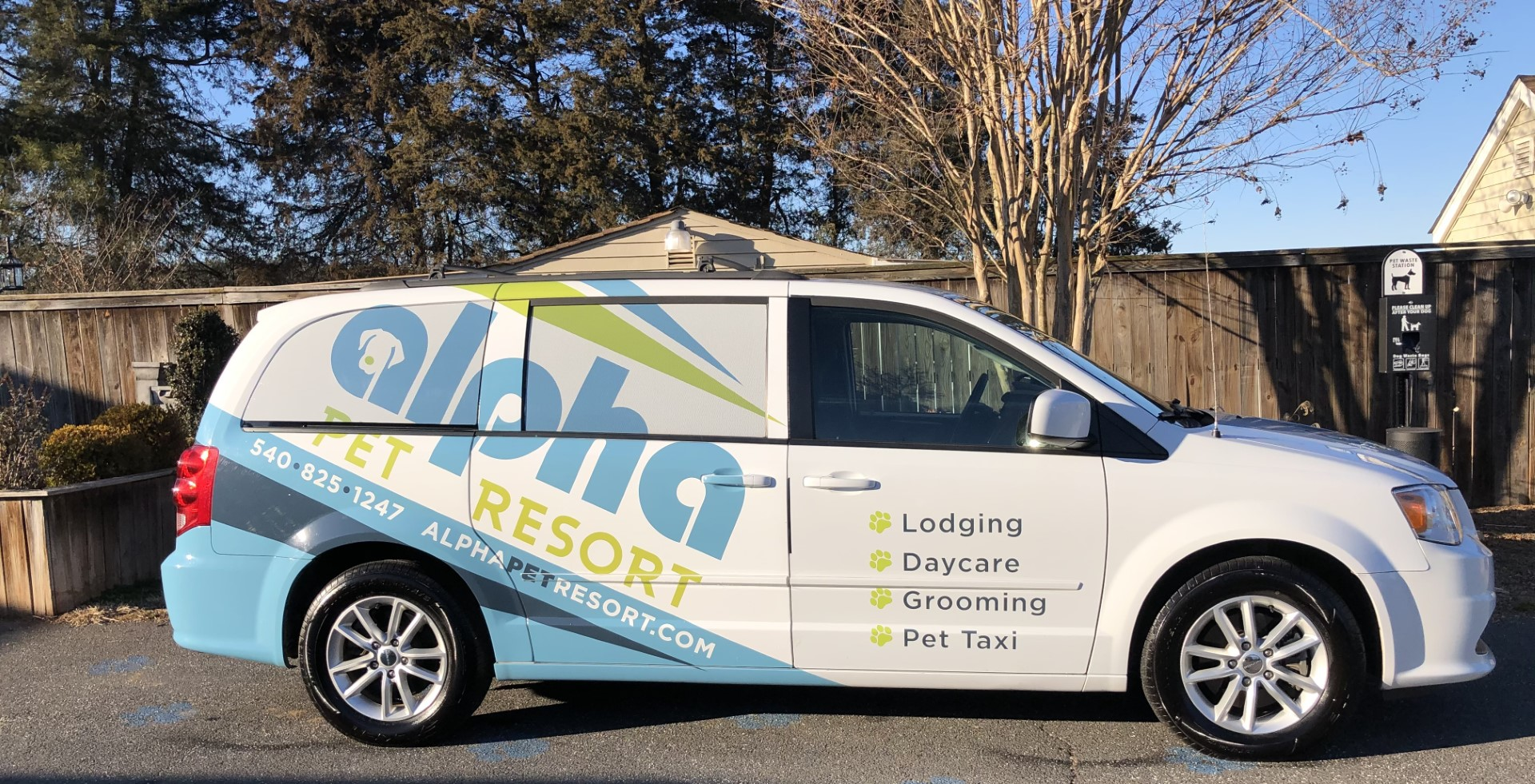 Alpha Pet Resort Van
